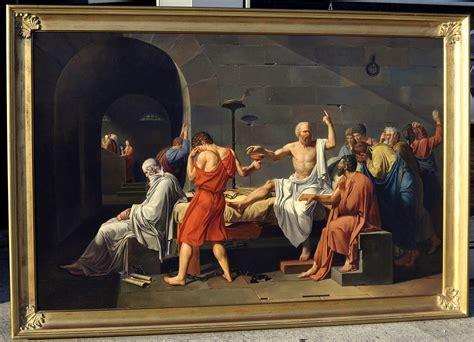 Jacques-Louis David, The Death of Socrates, la morte di ...