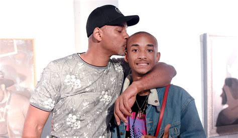 Jaden Smith Supports His BFF at Art Basel with Dad Will ...