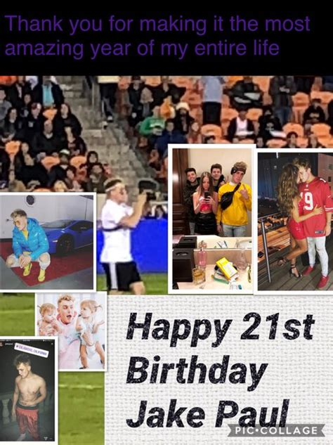 Jake Paul s Birthday Celebration | HappyBday.to