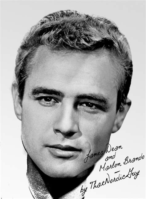 James Dean / Marlon Brando by ThatNordicGuy on DeviantArt