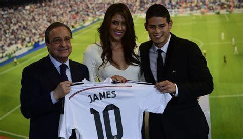 James, nuevo jale del Real Madrid:  Espero dar muchas ...