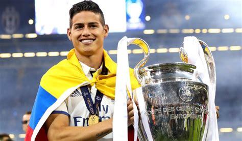 James Rodríguez futbolista colombiano más títulos historia ...