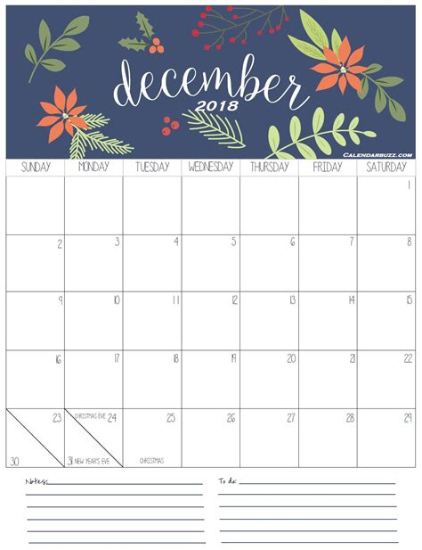 January To December 2018 Holidays Calendar | Calendar 2018