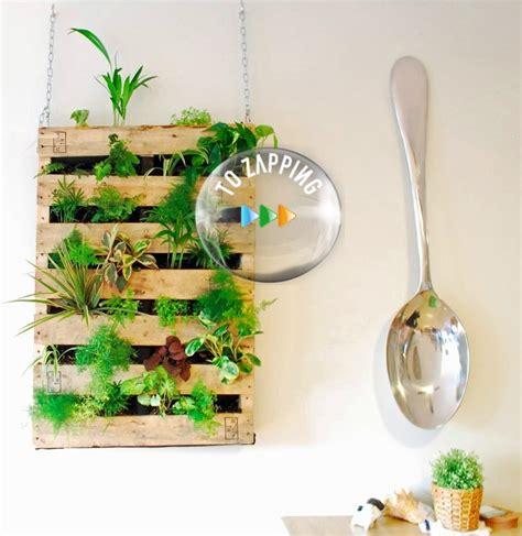 Jardín vertical con palet - Tozapping.com