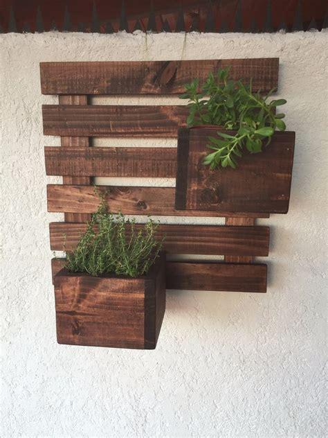 Jardinera De Madera Colgante 50x50   $ 23.000 en Mercado Libre