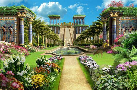 Jardines Colgantes Babilonia | EL ARCA DE LOS DIOSES