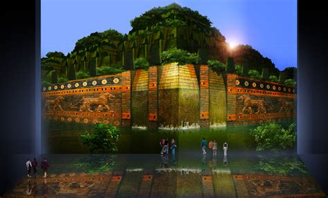 Jardines colgantes de Babilonia / Concepto precursor e ...