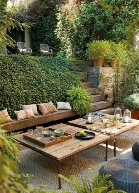 Jardines rústicos para este verano. Woodies. | Decora en ...