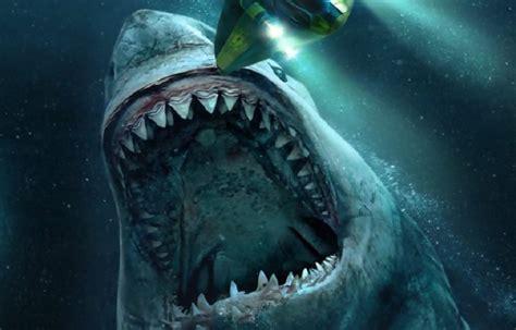 Jason Statham et son requin géant - teaser de Meg En Eaux ...