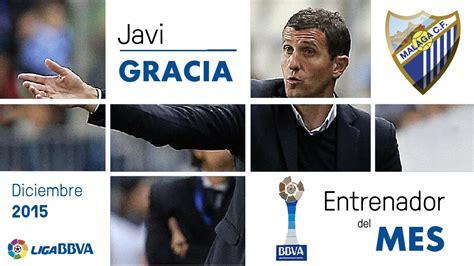 Javi Gracia, mejor entrenador de la Liga BBVA en diciembre ...