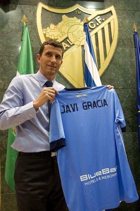 Javi Gracia, presentado como nuevo entrenador del Málaga ...