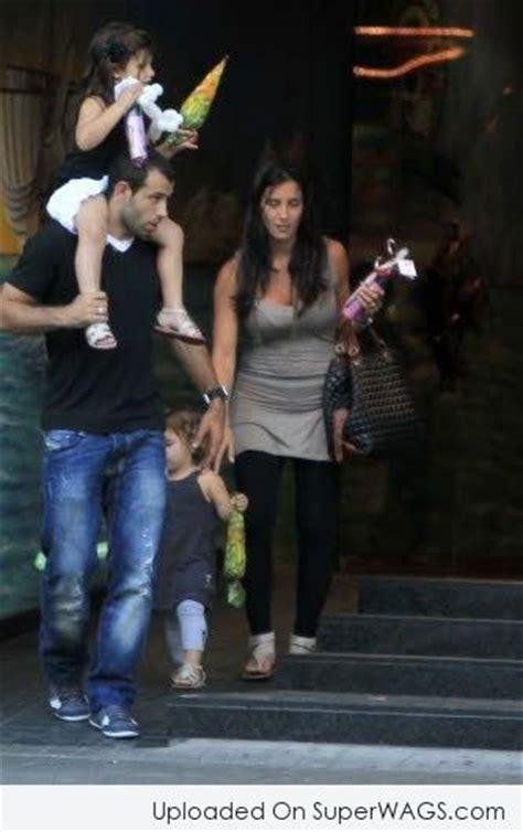 Javier Mascherano and Fernanda Mascherano at Party | Super ...