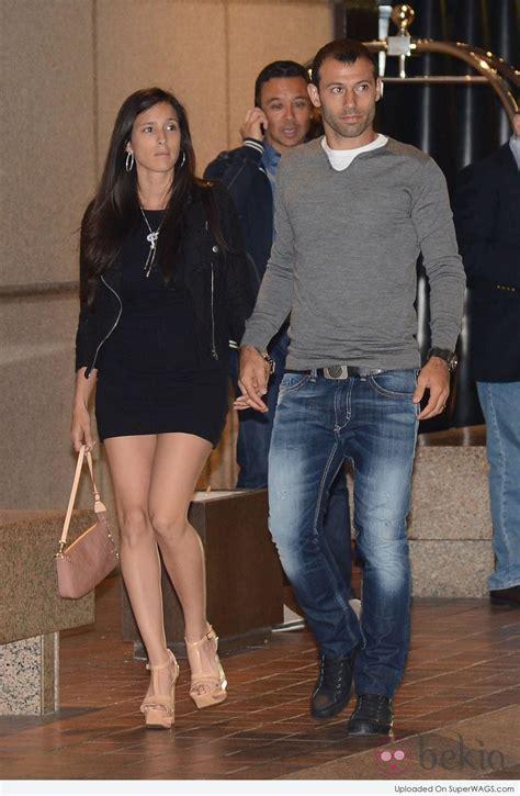Javier Mascherano and Fernanda Mascherano | Super WAGS ...