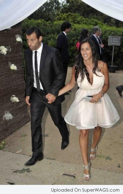 Javier Mascherano & Fernanda Mascherano with Family ...