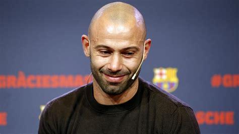Javier Mascherano's Barça farewell stirs deep emotions ...