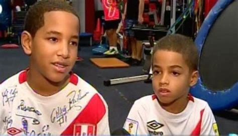 Jefferson Farfán: Adriano y Jeremy, los hijos de la ...