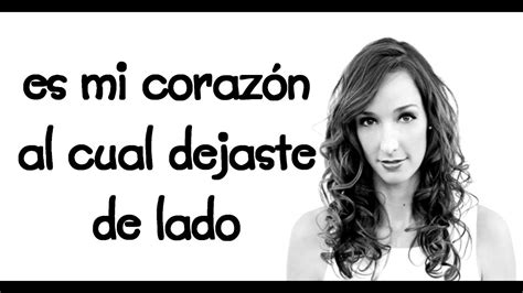 Jenn Bostic - Not yet Lyrics en Español - YouTube