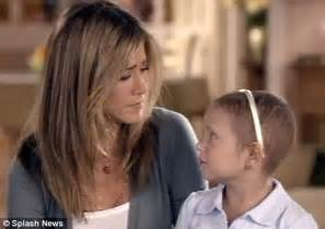 Jennifer Aniston in a New Ad for St. Jude Children s ...
