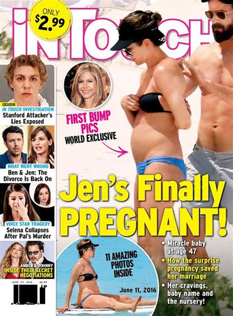 Jennifer Aniston Pregnant: Having First Child With Justin ...