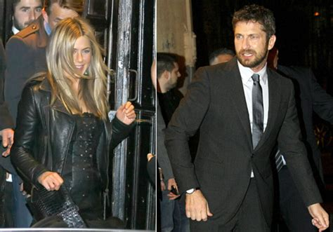 Jennifer Aniston y Gerard Butler disfrutan de la noche ...