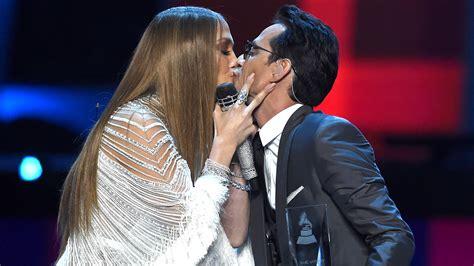 Jennifer Lopez and Marc Anthony seal Latin Grammys ...