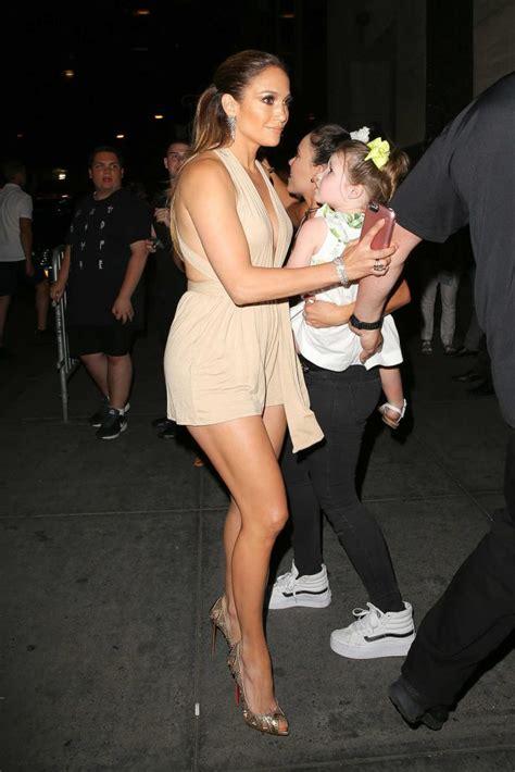 Jennifer Lopez Attends Marc Anthony's Concert at Radio ...