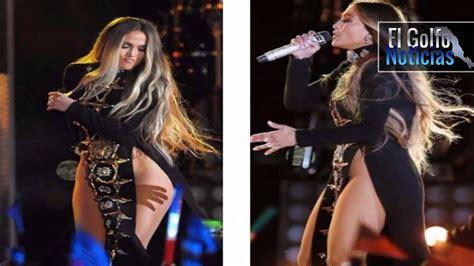Jennifer Lopez canta sin ropa interior en Nueva York ...