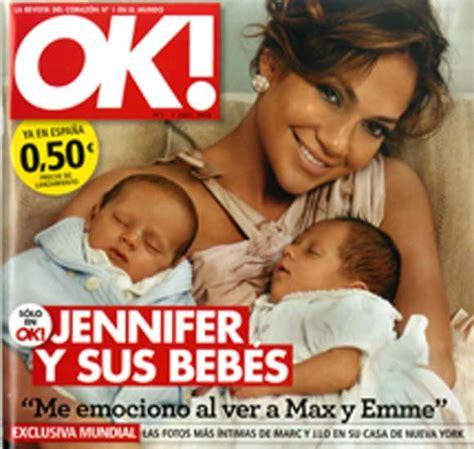 Jennifer López enseña en exclusiva a sus bebés en la nueva ...