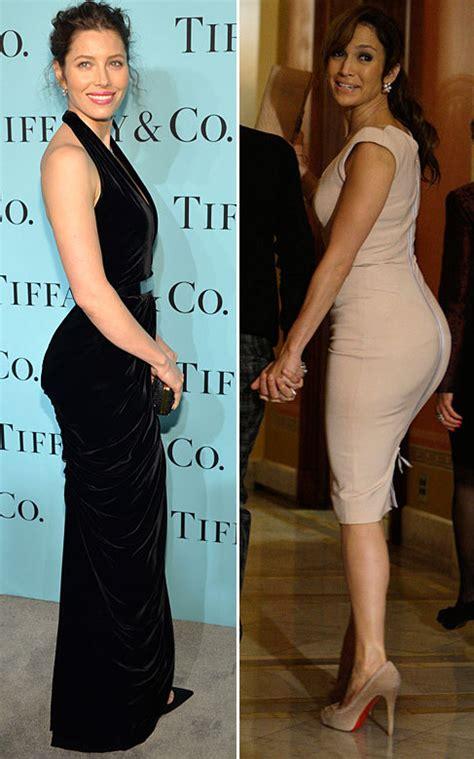 Jennifer Lopez envidia el trasero de Jessica Biel - Si hay ...
