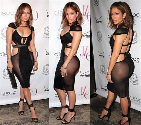 Jennifer López festejó sus 46 años sin... ¡ropa interior ...