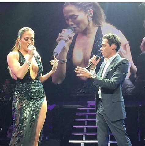 Jennifer Lopez & Marc Anthony Perform  No Me Ames  On ...