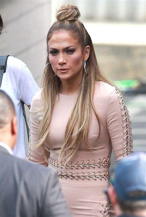 Jennifer Lopez Peinados Trenzas