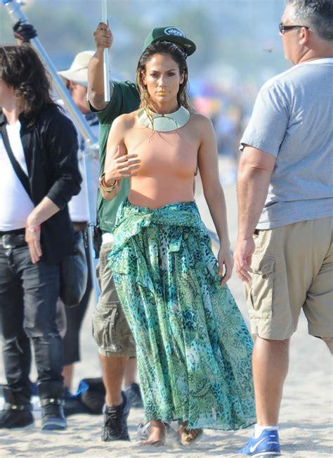 Jennifer Lopez Photos   Jennifer Lopez and Pitbull Film ...