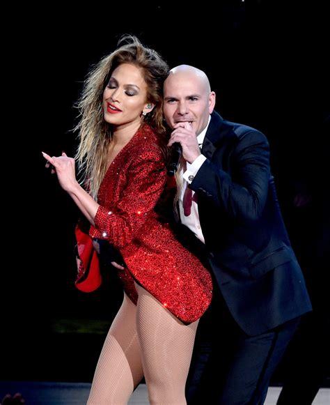 Jennifer Lopez Pitbull Photos   American Music Awards Show ...