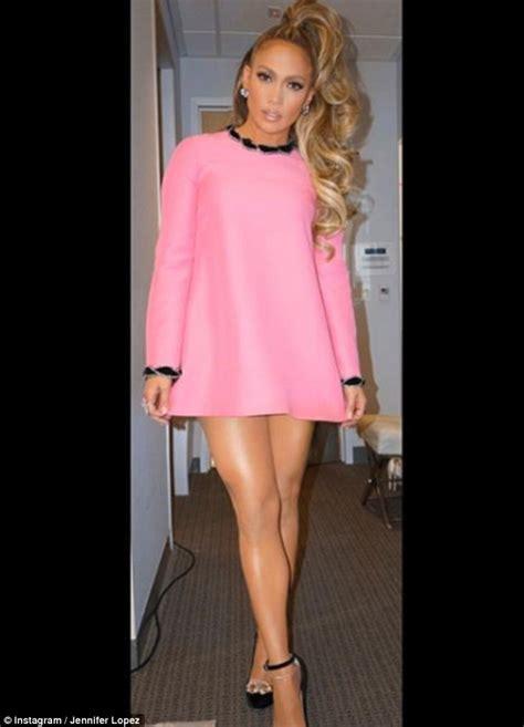 Jennifer Lopez rocks pink frock in BTS from World of Dance ...