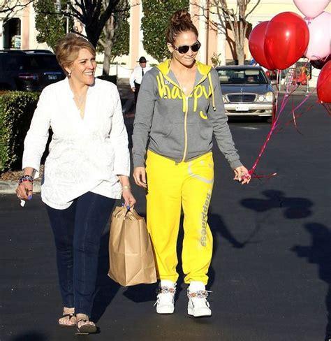 Jennifer Lopez z mamą, Guadalupe Rodriguez