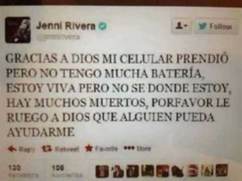 JENNY RIVERA SE DICE K ESTA VIVA - YouTube