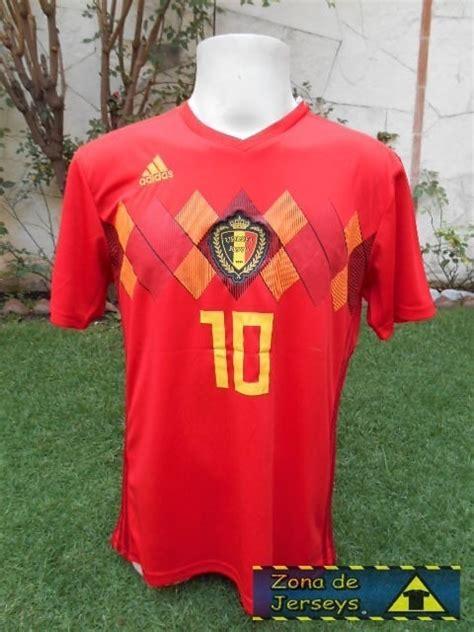 Jersey Eden Hazard Selección Bélgica 2018 Mundial Local ...