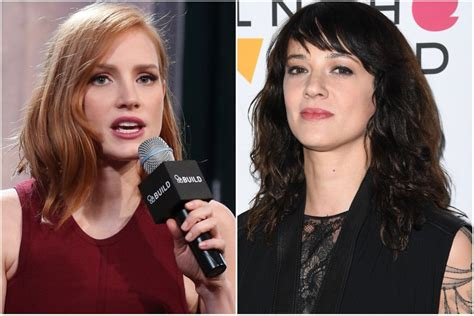 Jessica Chastain counters Asia Argento's Time's Up ...