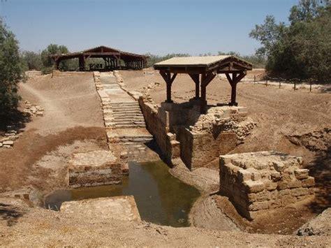 Jesus  Baptism Site   Picture of Jordan River Baptismal ...