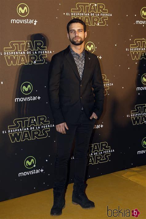 Jesús Castro en el estreno de  Star Wars: El Despertar de ...