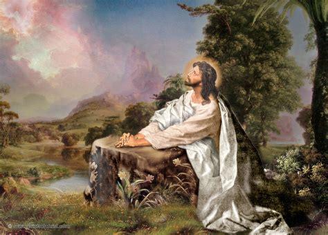 Jesus Christ Oil Painting Wallpapers For Desktop | Free ...
