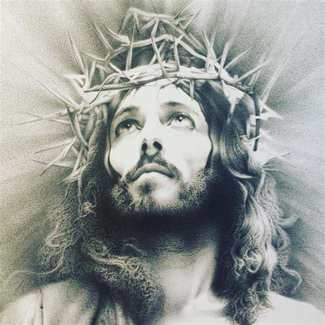 Jesus Drawing by Giampiero Damanias