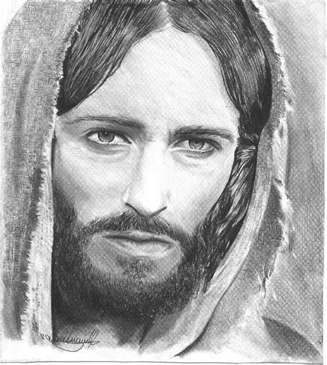 Jesus Drawings Pencil Drawn Pencil Jesus - Pencil And In ...