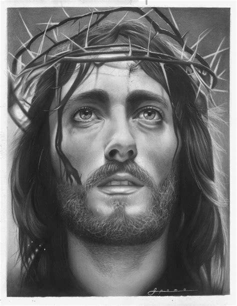 Jesus Drawings Pencil Jesus Bloody Tears   Awesome Pencil ...
