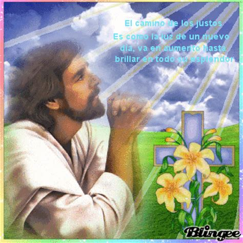 Jesus orando Fotografía #122928333 | Blingee.com
