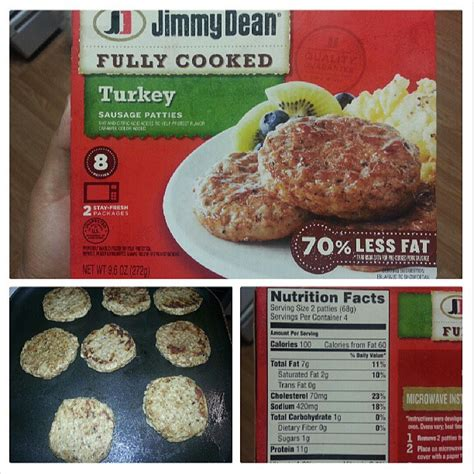 jimmy dean turkey sausage