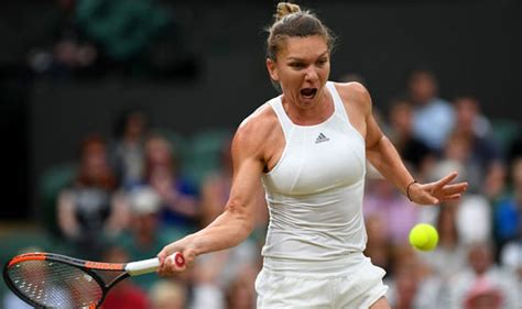 Johanna Konta v Simona Halep AS IT HAPPENED: Brit fights ...