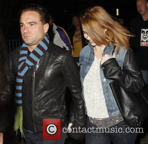 Johnny Galecki and Girlfriend