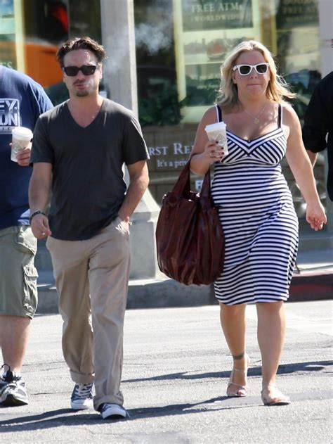 Johnny Galecki in Johnny Galecki And Friends Leaving The ...